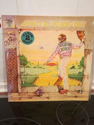 Disco vinilo Elton John -Goodbye yellow brick road