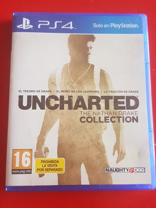 Uncharted 1, 2 y 3 PS4