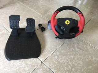 Volante Y pedales PS3 PS4 y PC