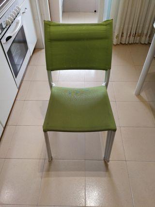 sillas de cocina apilables