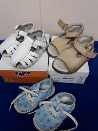 Lote zapatos niño