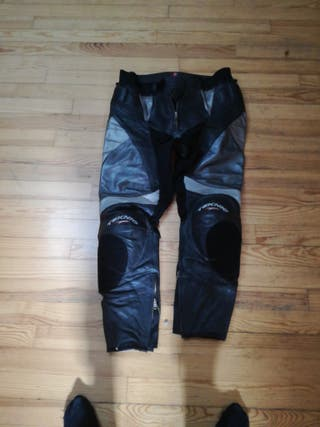 Pantalones moto cuero teknic xl