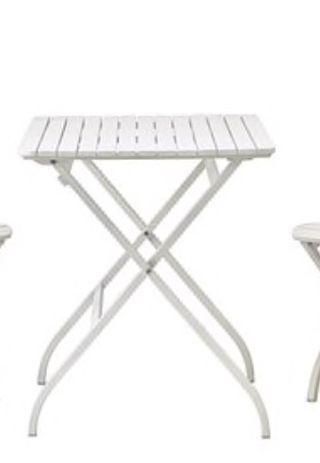 Mesa blanca plegable ikea