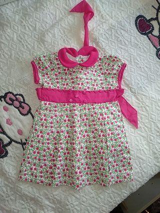 vestido 12 meses bebe