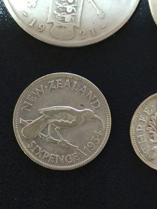 monedas inglesas de plata antiguas
