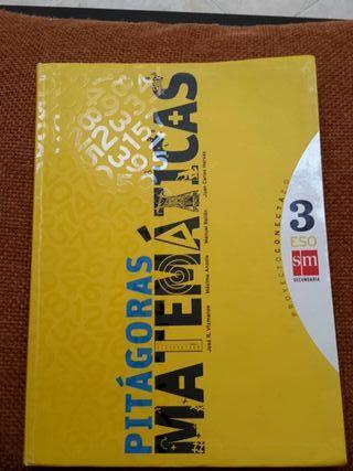 Libro matematicas Pitagoras tercero eso