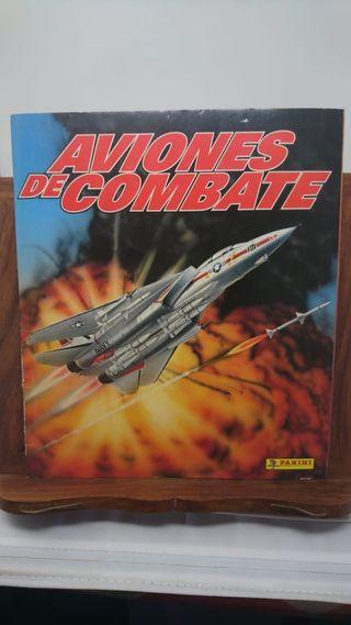 Aviones de combate Panini, faltan 6 cromos.