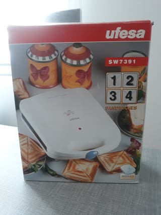 Sandwichera UFESA (4 unidades) SW7391