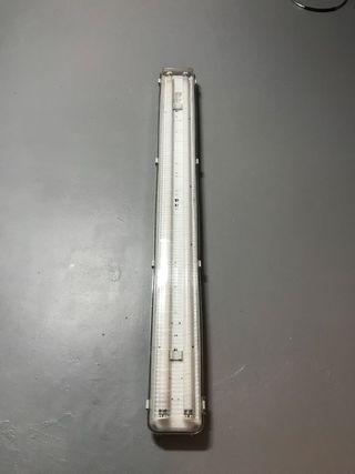 Pantalla tubos fluorescentes