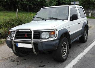 Mitsubishi Montero cortó