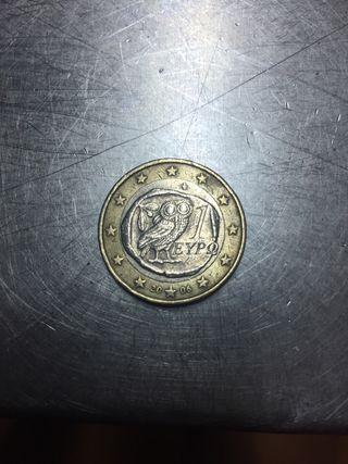 Moneda buho griega