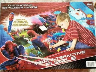 Mega Interactive Puzzle Spiderman