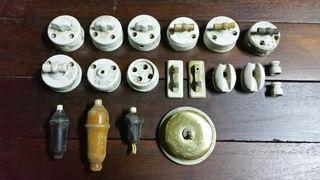 Lote interruptores antiguos.