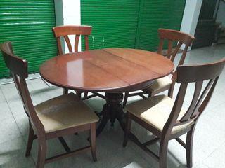 Muebles salon madera maciza de cerezo de segunda mano por - Muebles salon alicante ...