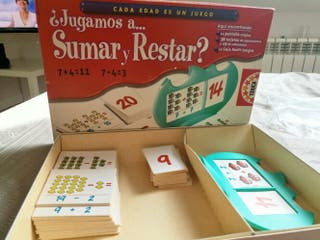 Juego Sumar y Restar