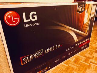 TV LG 4K UHD 60UH850V