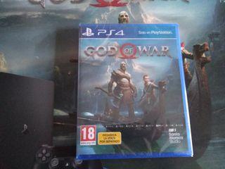 god of war ps4 precintado