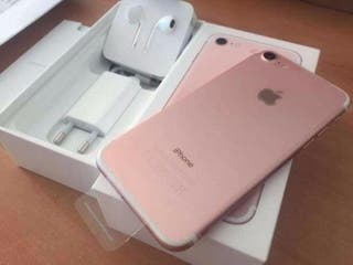 iphone 7 Rose gold brand new 128gb