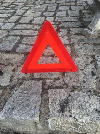 Triangulo emergencia o averia