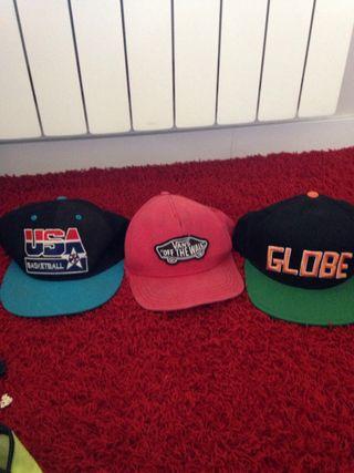 Pack de 3 gorras