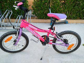 """Bici niña 16"""" conor"""