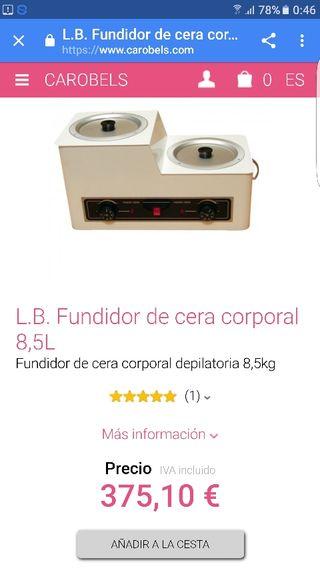 Fundidor de cera 50€