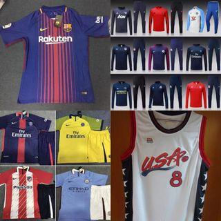 camisetas fútbol, nba, chándal equipos,...