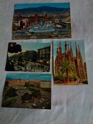postales antiguas Barcelona
