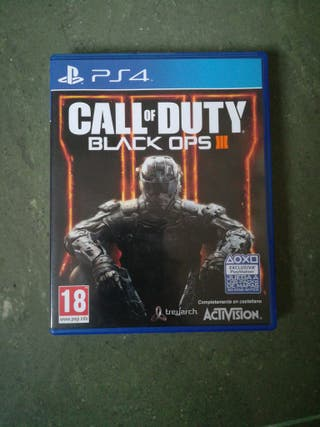 call of duty black ops 3 III PS4