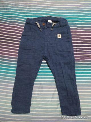 Pantalón niño 100% algodón 18-24 meses