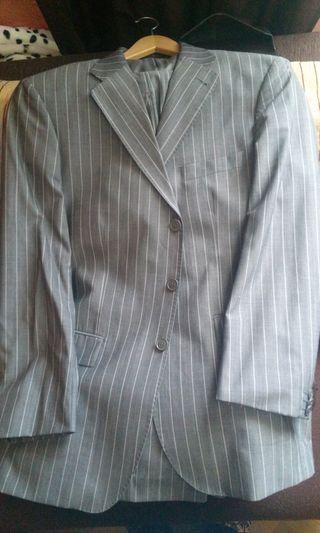 Traje caballero Easy Wear gris
