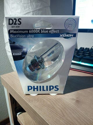 Philips D2S 6000k blue effect SIN ESTRENAR