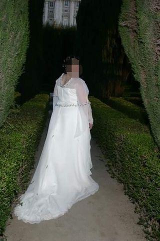 vestido de novia talla grande de segunda mano en wallapop