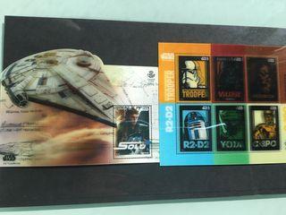 Coleccion sellos star wars