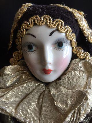 Arlequin porcelana veneciano