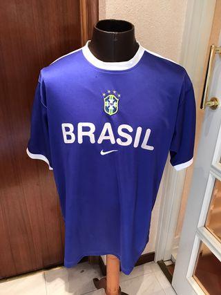 Camiseta entrenamiento Brasil