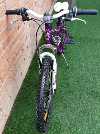 """bicicleta niña marca Coluer Lucy 24"""""""