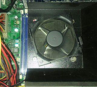 placa base con procesador y ram 6gb