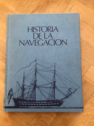 Libro Historia de la navegacion 1980