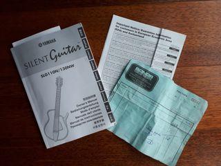 guitarra silent yamaha SLG11on/130NW