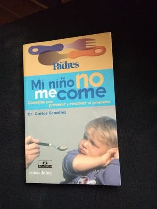"Libro ""Mi niño no me come"""