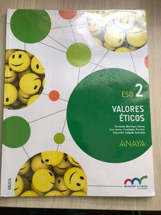 Libro Valores Eticos ANAYA