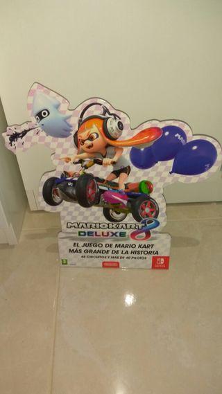 Mario Kart Splatoon Cartelería
