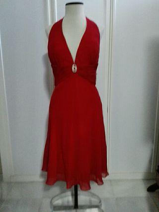 Vestido Rojo de Cóctel