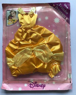 Blister vestido Bella princesas Disney