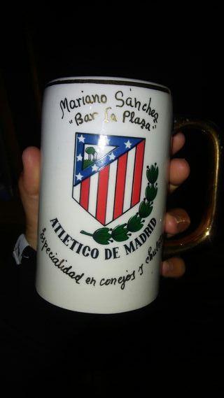 tazo/vaso atletico de madrid