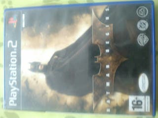 Batman Begins Play Station 2 videojuego ps2