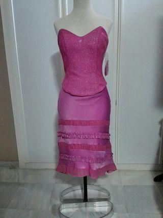 Vestido de Fiesta de 3 piezas.