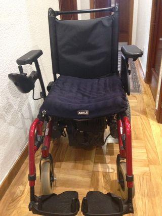 Sillas de ruedas invacare de segunda mano en madrid wallapop - Silla de ruedas electrica de segunda mano ...