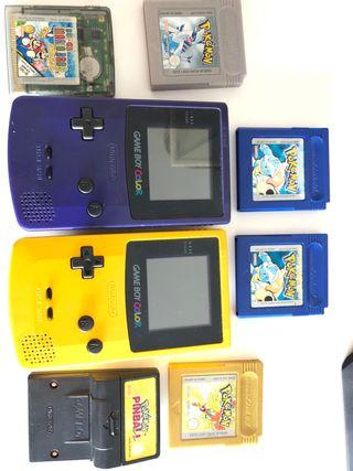 Lote gameboy color pokemon
